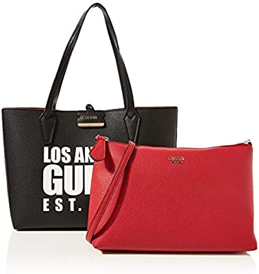 Guess Bobbi Inside out Tote, Bolso Tipo Mujer, , 12.5x27x42.5 centimeters (W x H x L)