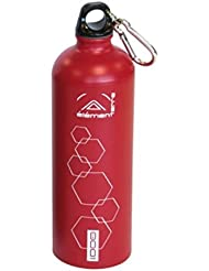 Elementerre Pear 1000 - Cantimplora, color rojo, 1000 ml