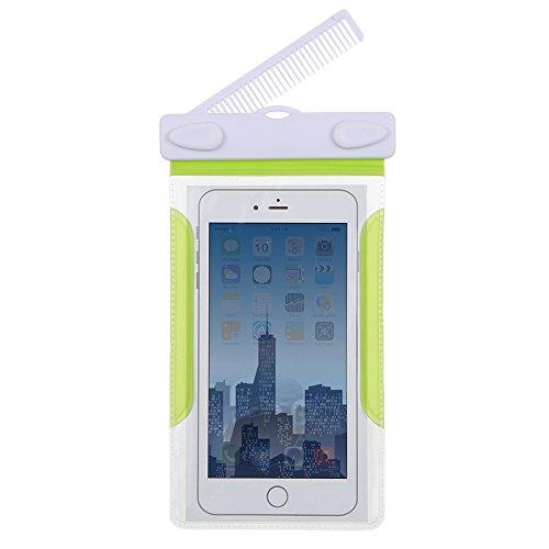 Docooler-Custodia-Impermeabile-Subacqueo-Pouch-Dry-Bag-Waterproof-Cover-Case-con-il-Pettine-per-4-6-Touchscreen-iPhone-Cell-Phone