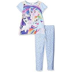 My Little Pony Girl's Mermaid Pyjama Sets, Blue, Years (Size: 4-5)