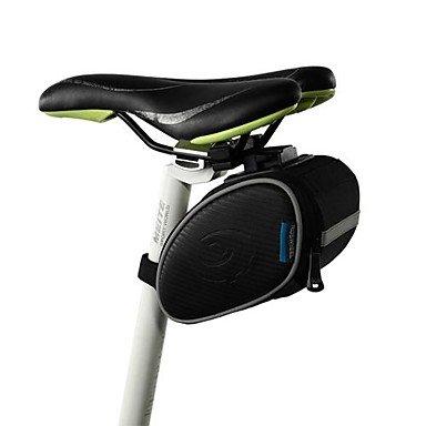 ZXC/Fahrrad Sattelstütze Tasche Sitz Sattel hinten Schwanz Paket Schwarz Outdoor (Hinten Sattelstütze)