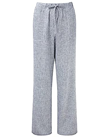 Cotton Traders Womens Ladies Casual Linen-blend Trousers Pants 27