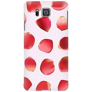 URBAN KOLOURS Original Designer Printed Hard Case Back Cover for Samsung Galaxy Alpha (Rose Petals)