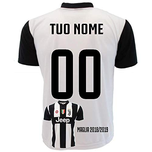Perseo trade maglia ronaldo 7 maglietta juventus replica ufficiale 2018/2019 ps 27365-8 anni