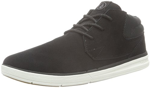 volcom-el-dorado-shoe-mens-low-top-sneakers-black-schwarz-black-destructo-105-uk-45-eu