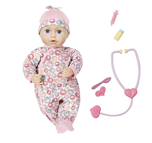 """Zapf Creation 701294\"""" Baby Annabell Milly Feels Better Puppe, bunt"""