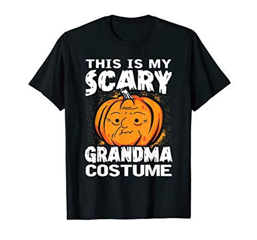 Kostüm Beängstigend Eine Halloween - Dies Ist Meine Beängstigend Oma Kostüm Halloween Kürbis Hemd