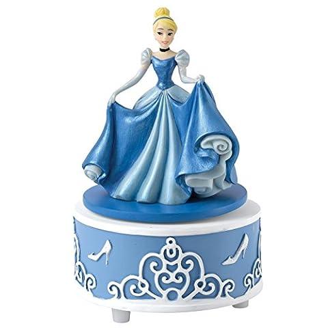 Enchanting Disney A27166 Cendrillon Le Rêve est un Souhait Musical Figurine Résine Multicolore 9 x 9 x 11 cm