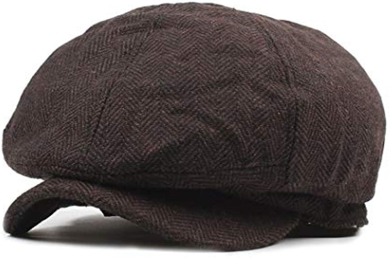 Aifulai Cappello da Pittore Cappello a Cappuccio Ottagonale Cappellino da  da Uomo Cappellino da da Giornale 412cb8782a6b