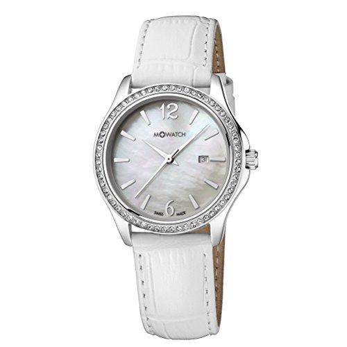 M-WATCH Damen-Armbanduhr Stones Analog Quarz WRS.13210.LA