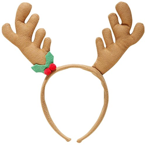 WIDMANN S.R.L., Headband Christmas Reindeer (Ideen Kostüm Themed Disco)