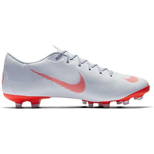 Nike Herren Mercurial Vapor XII Academy MG Fußballschuhe, grau/rot, 40 EU - Fußball 40