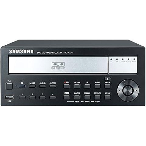 SS302 - SAMSUNG SRD-473D 4 CHANNEL 4CIF H.264 DIGITAL VIDEO RECORDER DVR SMART PHONE COMPATIBLE 100FPS CMS 1080P