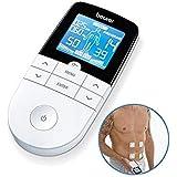 Beurer EM49 - Electroestimulador digital, para aliviar el dolor muscular y el fortalecimiento muscular, masaje, EMS, TENS, pa