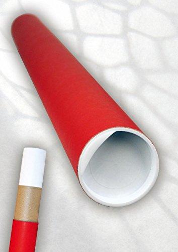 Geschenk-Versandhülse Rot,Pappe 1,5 X 775 X 50mm