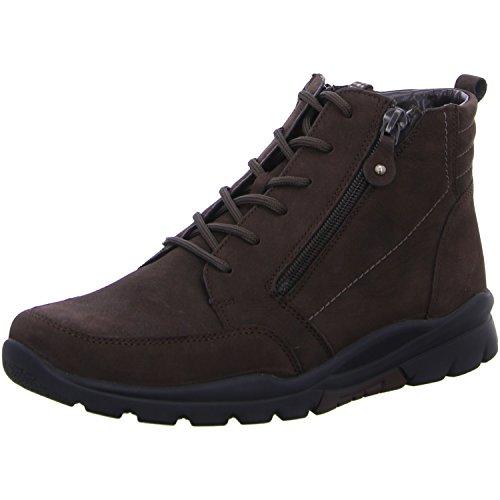 Waldläufer  345802-114-038 Haruka, Chaussures bateau pour femme marron foncé