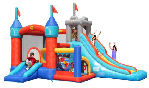 Duplay Happy Hop Medieval Knights Bouncy Castle