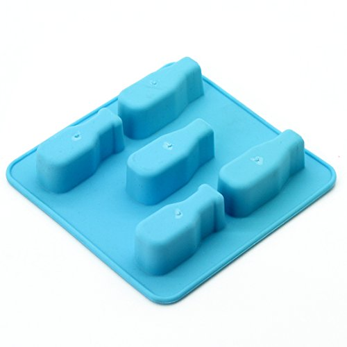 Bottle Mold Silicone Ice Cube Tray Tools Chocolate Ice Mould color random Diy Lovely Freeze Bar