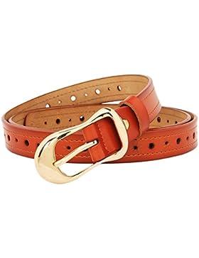 Simple Cinturón Decorativo Versátil/Cinturón De Los Pantalones Vaqueros Ocasionales/Correa Hueco