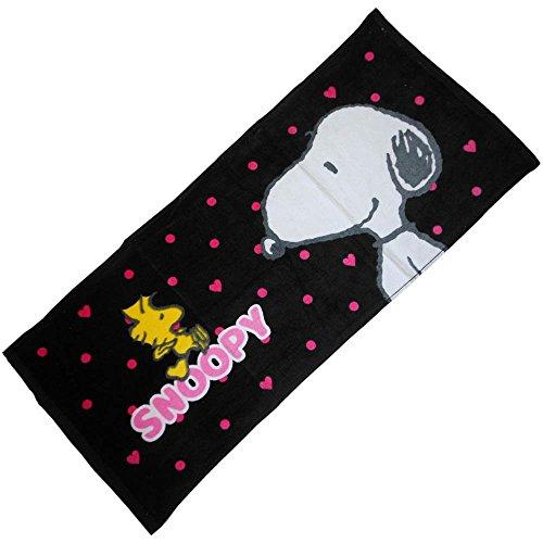 Y 's Trading Handtuch Peanuts Snoopy Gesicht Typ D schwarz 25888Air Pflanzen Dream