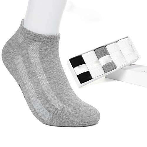Herren Sportsocken (5 Stück), Herren-Deo-Socken, Herren-Low-Socken, Baumwoll-Business-Deo-Socken Sportsocken, Socken im Karton,Shortparagraph