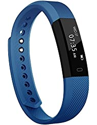 Fitness Armband, TOOBUR Aktivitätstracker Fitness Armbanduhr Wasserdichte mit Schrittzähler / Schlafüberwachung / Kalorienzähler, Smartwatch für Damen Herren Kinder