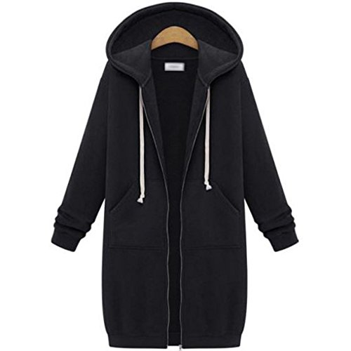YunPeng Women s Medium Fashion Hooded Cardigan Sweater Coats 85c9a49c37