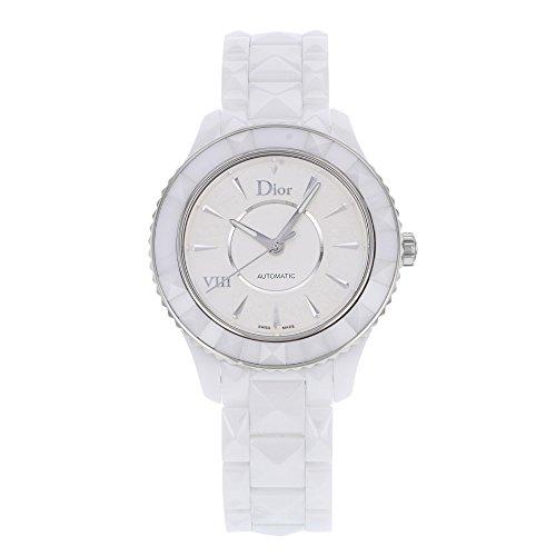 Christian Dior VIII CD1245E3C001 Steel & Ceramic Automatic Ladies Watch