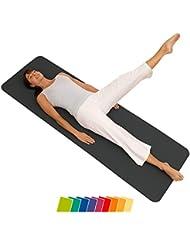 Airex Gymnastikmatte Fitline 180 - Colchoneta de ejercicio, color gris, talla 180 x 60 x 1 cm environ