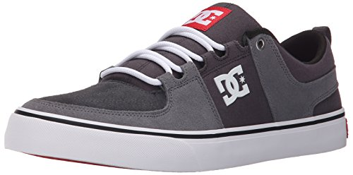 DC - Lynx Vulc Low Top Chaussures pour hommes Grey-Grey-Red