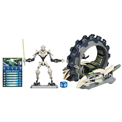 Star Wars The Clone Wars: General Grievous with Attack Cycle