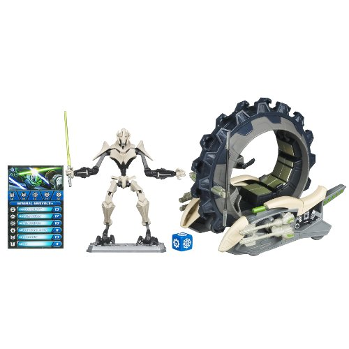 Star Wars Clone Wars Fleet Class Attack Cycle With General Grievous [Toy]