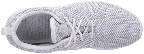 Nike Roshe Run 511882, Damen Low-Top Sneaker Weiß (White/Metallic Platinum 103)