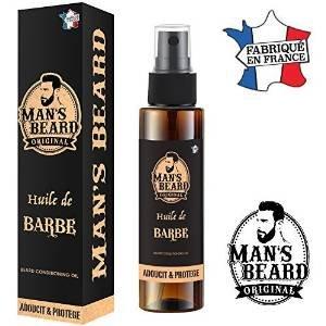 Ölbart - man's beard - französische Herstellung - schützt den Bart und macht ihn geschmeidig - Serum / Bartöl für Männer - Inhalt: 75...