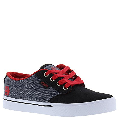Etnies Kids Jameson 2 Eco, Chaussures de Skateboard mixte enfant Black/Red/Grey