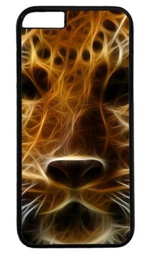 Le design Leopard Masterpiece limitée de l'amour par PC Noir Coque pour iPhone 5C Cas & Souris