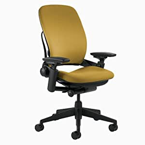 Steelcase Leap Fabric Chair, Yellow