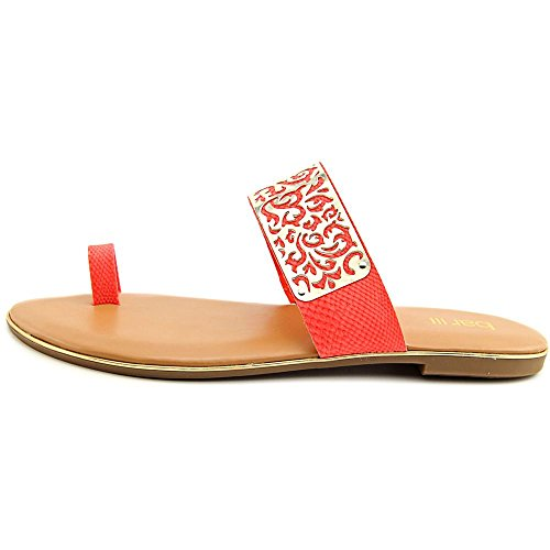 Bar III Vienna Cuir Sandale Corail