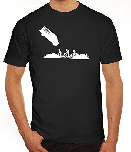 Mystery Serie Herren T-Shirt mit ST- Hawkins Van Motiv von ShirtStreet Schwarz
