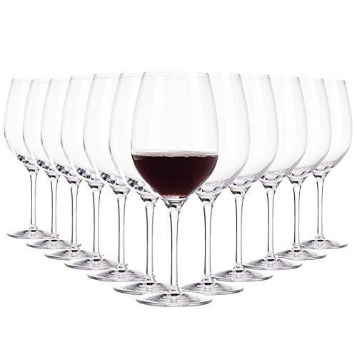 Copas de vino rojo Arzberg / 500 ml / set de 12 / Gafas de alta calida