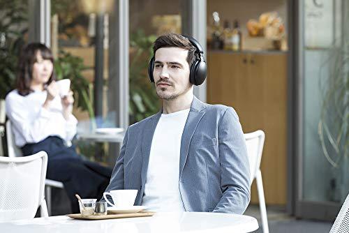 Panasonic RP-HD605NE-K Bluetooth Noise Cancelling Kopfhörer (bis 20 h Akkulaufzeit, Quick Charge, Sprachsteuerung, schwarz) - 12