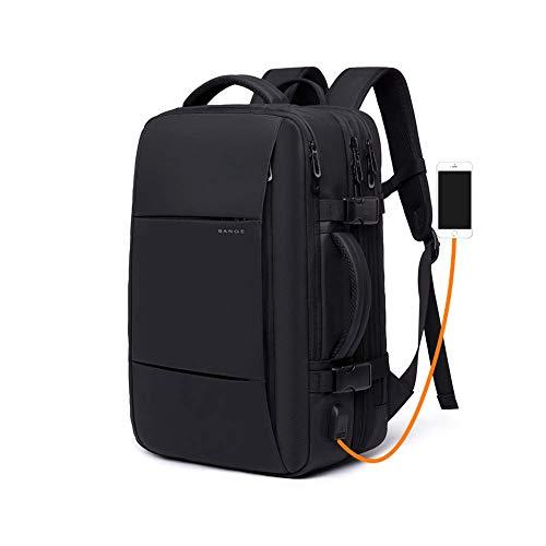 22L - 37L zaino trekking borsone da viaggio, zaino bagaglio a manom, zaino da viaggio con Porta USB, zaino impermeabile per Ciclismo da Viaggio Arrampicata Sportiva da Campeggio