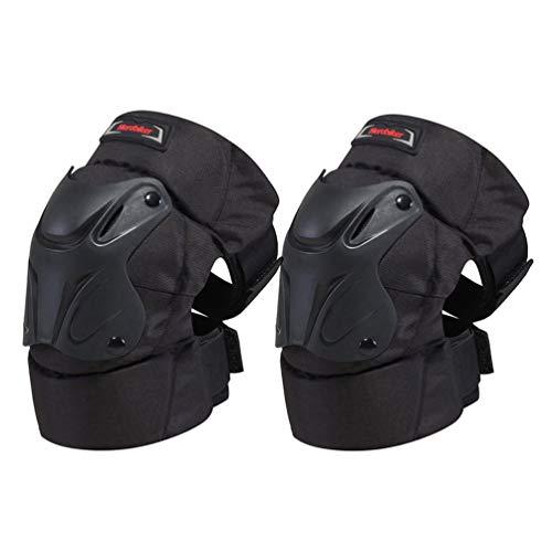 MagiDeal Herobiker Moto Motocross Ginocchiere Protezioni Pad per Motocross