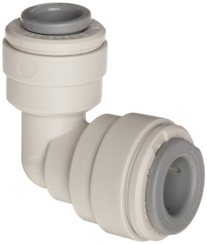 John Guest Acetal Copolymer Tube Fitting, Reducing Elbow, 1/2 x 3/8 Tube OD (Pack of 10) by John Guest -