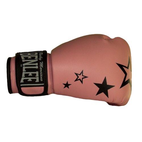 BENLEE Rocky Marciano PVC Boxhandschuh Sistar, Pink mit Sternchen (BABY PINK), GröM-_e: 10 oz