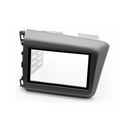 carav 11–174 Doppel DIN Autoradio Radioblende DVD Dash Installation Kit für Honda Civic Limousine 2011–2013 Faszie mit 173 * 98 mm/178 * 100 mm/178 * 102 mm