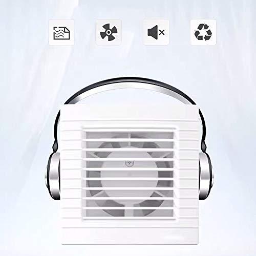 Ventiladores para pared empotrable,Ventiladores domésticos, extractor de aire para el hogar ultra...