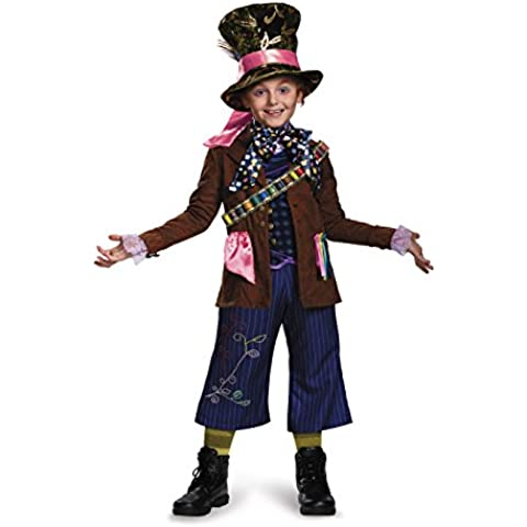 Disguise Mad Hatter Prestige Alice Through The Looking Glass Movie Disney Costume, Large/10-12, One Color by Disguise