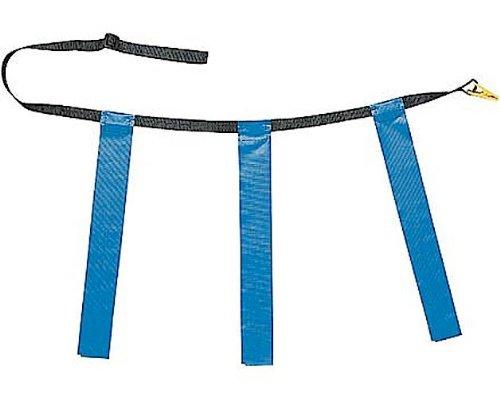 le Flag Football Gürtel, Unisex, TFFAXBL, blau, 40