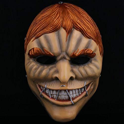 sasa Halloween Resin Zahltag 2 Thema Collector's Edition Maske Blonde männliche Maske